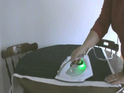 How to use Fusible Wadding.swf
