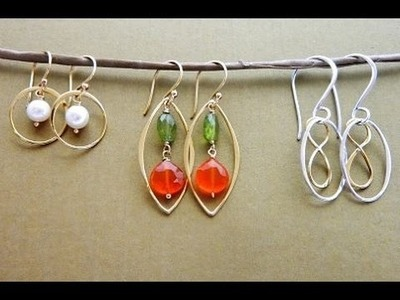 Jewelry How To - Make Earrings with Frames