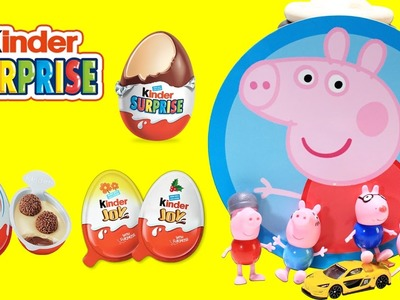Kinder Surprise Eggs Play Doh Peppa Pig Play Doh Learn Color and Play Doh Toys Creative for Kids