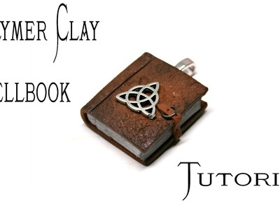 Polymer Clay Spellbook Pendant Tutorial | Pagan.Wiccan Crafts