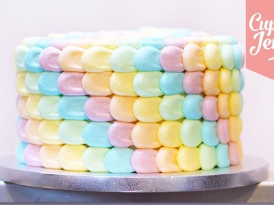 Rainbow Petal Cake Masterclass | Cupcake Jemma