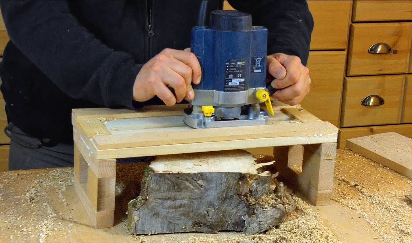 Приспособления к ручному фрезеру по дереву своими руками 893