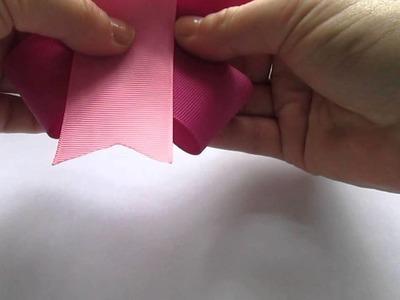 Sweet n Simple bow tutorial by UK seller (no sew)