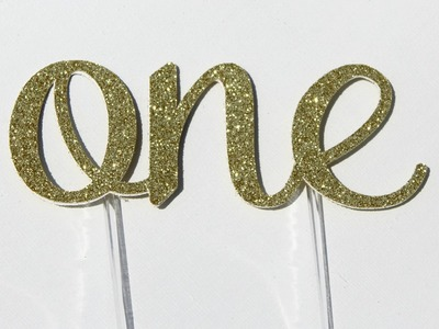 5 Best Handmade 1st First Birthday Cake Topper Decoration - One - Made Review