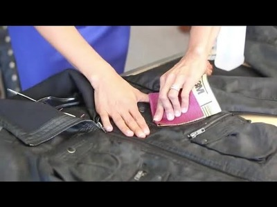 A DIY Distressed Leather Jacket : Trendy Fashion Tips