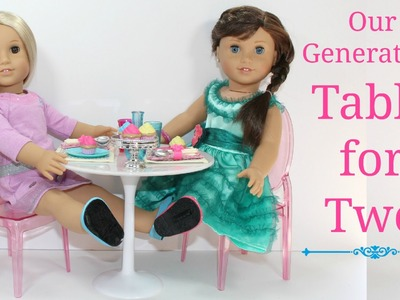 American Girl Doll Table for Two Review