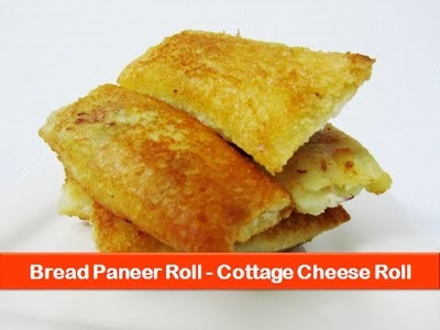 Bread paneer rolls recipe.Cottage cheese recipes.Veg Indian evening snacks for kids-let's be foodie