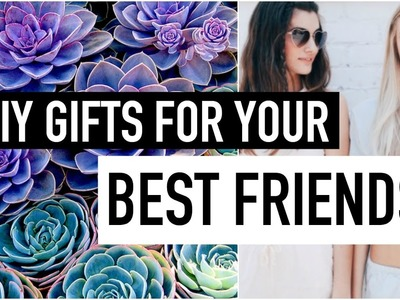DIY Gifts for best friends (Part 3!) Easy, Last Minute Gift Idea DIY Guide | Natasha Rose
