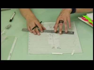 How to Draw a Croquis for Fashion Illustration : Drawing Fashion Croquis: Lines & Angles