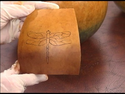 How to Get a Design onto Your Gourd