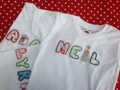 How to personalise baby or children t shirts