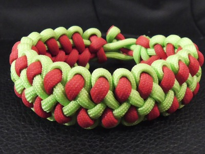 How To Tie A Dragon Claw Paracord Survival Bracelet Without Buckle