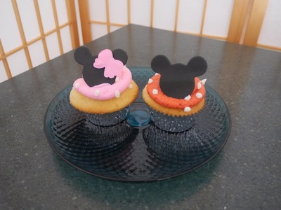 Mickey & Minnie Mouse Cupcakes