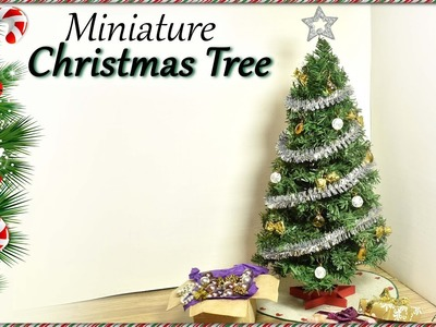 Miniature Christmas Tree - Doll Craft Tutorial