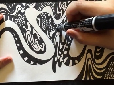 OhMustaches : The illusion of beautiful lie - the drawing sketching and illustrator how to in doodle