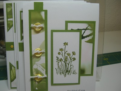 One Sheet Wonder - 6-7 cards from one 6x6 DSP - Beautiful and so much fun to make.
