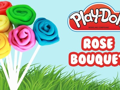 Play Doh Play Doh Rose Garden Make colorful flowers-  Play Doh Modelliermasse
