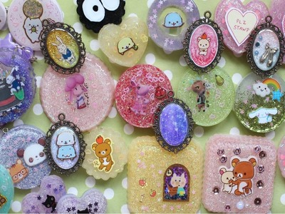 Resin Update #1 - Pieces Inspired By Awesome Resin Crafters! :D