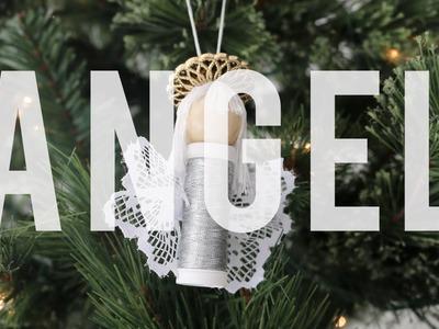 Sew Angel Ornament - Christmas Ornament Exchange