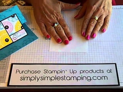 Simply Simple FLASH CARDS Panel Fun Fold  by Connie Stewart
