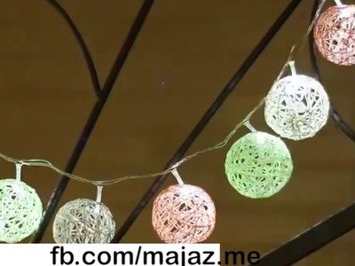 Specila christmas flashes decorated with line ball
