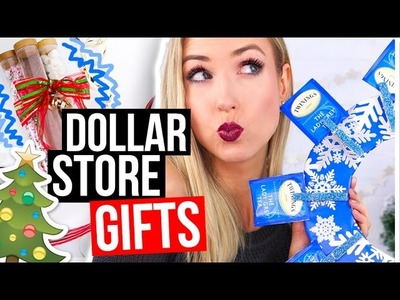 3 Easy DIY GIFT IDEAS for Christmas from the DOLLAR STORE!