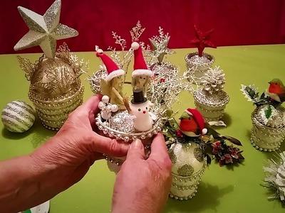 Christmas Craft Ideas .  Easy to make .  Diy