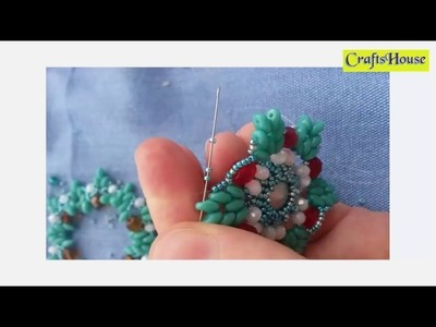 Crafts With Beads-DIY Beading Necklaces-Easy bead Patterns for Brush for Beginners