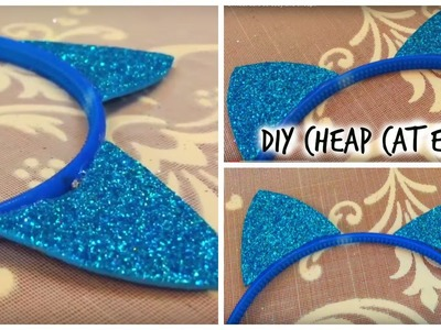 DIY:cat ears so easy and cheap!!