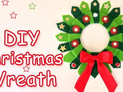 DIY Christmas Wreath - Christmas  crafts ideas - Ana | DIY Crafts