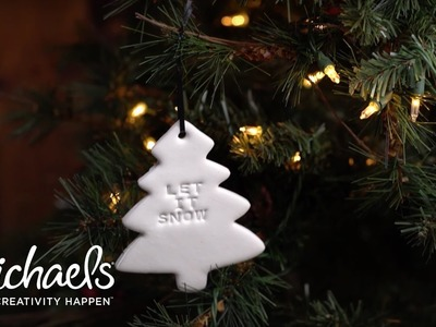 DIY Holiday: Clay Ornaments | Crafted | Michaels