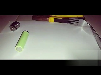 DIY vape out of fork simple and easy| How to| fully mechamical