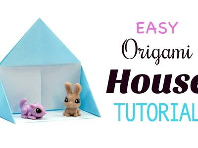 Easy Origami Play House Tutorial ♥︎ Fun DIY ♥︎ Paper Kawaii