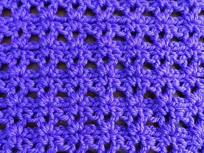 Easy V Stitch - Crochet Tutorial