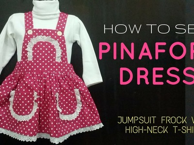 How to Sew Baby Jumpsuit Dress with free Pattern || DIY -  Make Baby Jumpsuit