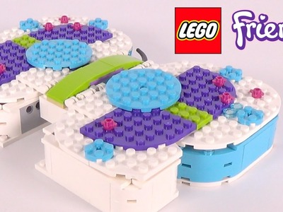 LEGO Friends Butterfly Organizer (40156) - DIY Toy Unboxing and Speed Build Review