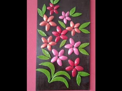 DIY Ceramic paste - Wall Decor - How to Make Wall Decor with Sea Shells & Ceramic Paste + Tutorial