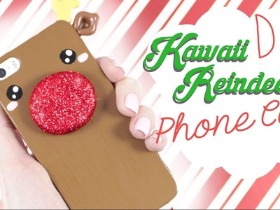 ☆ DIY Reindeer PHONE CASE! - X-mas DIY! ☆