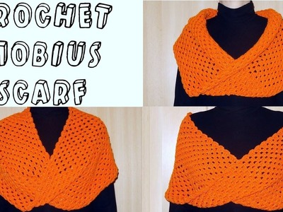 How to Crochet a Mobius Scarf or Cowl (Heklani šal)