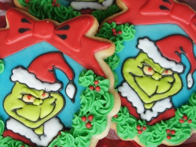 How to make Grinch cookies
