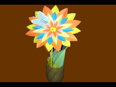 How To Make origami flower - Beauty origami tutorial & easy