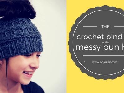 Messy Bun: Crochet Bind Off