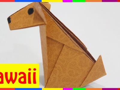 Origami Dog - How To Fold Dog ( Origami Hawaii )