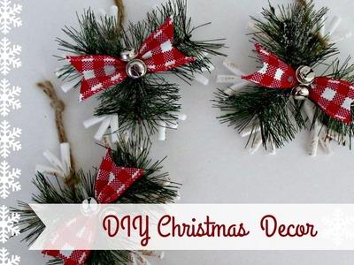 DIY~Budget Friendly~ Dollar Tree Christmas Decor