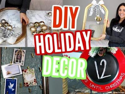 DIY CHRISTMAS DECOR! PINTEREST INSPIRED IDEAS