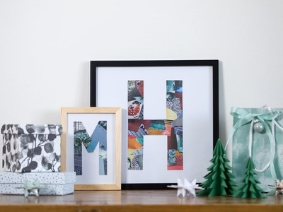 DIY : Display your own image collage by Søstrene Grene