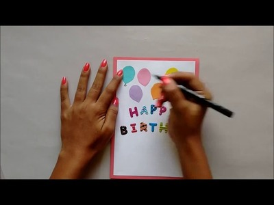 How to make 2017 New year greeting card at home