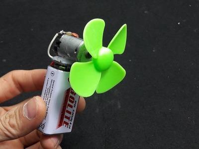 How to Make a Mini Cooling Fan Simple - DIY Fan