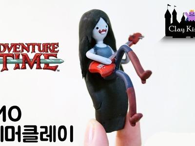 마르셀린 만들기 Adventure time Marceline Polymer Clay Tutorial