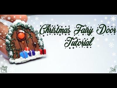Christmas Fairy Door Tutorial-Polymer Clay